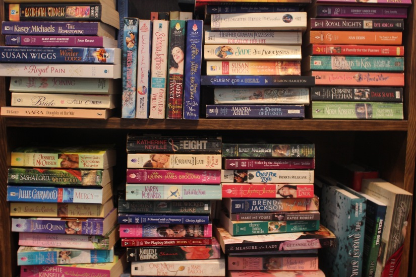 Holly's TBR Bookshelf